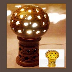 LAMPE MAROCAINE EN POTERIE Lampe en poterie