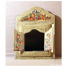 MIROIR MAROCAIN Miroir en bois