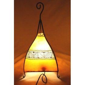 Lampe marocaine en peau
